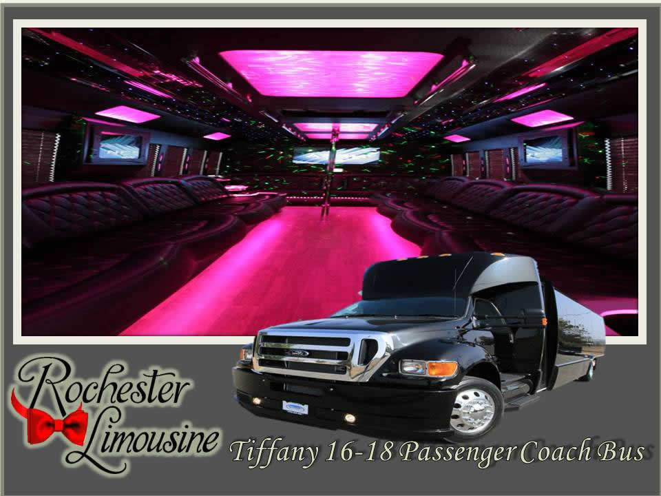 Rochester-limos-Tiffany-18-passenger-party-bus