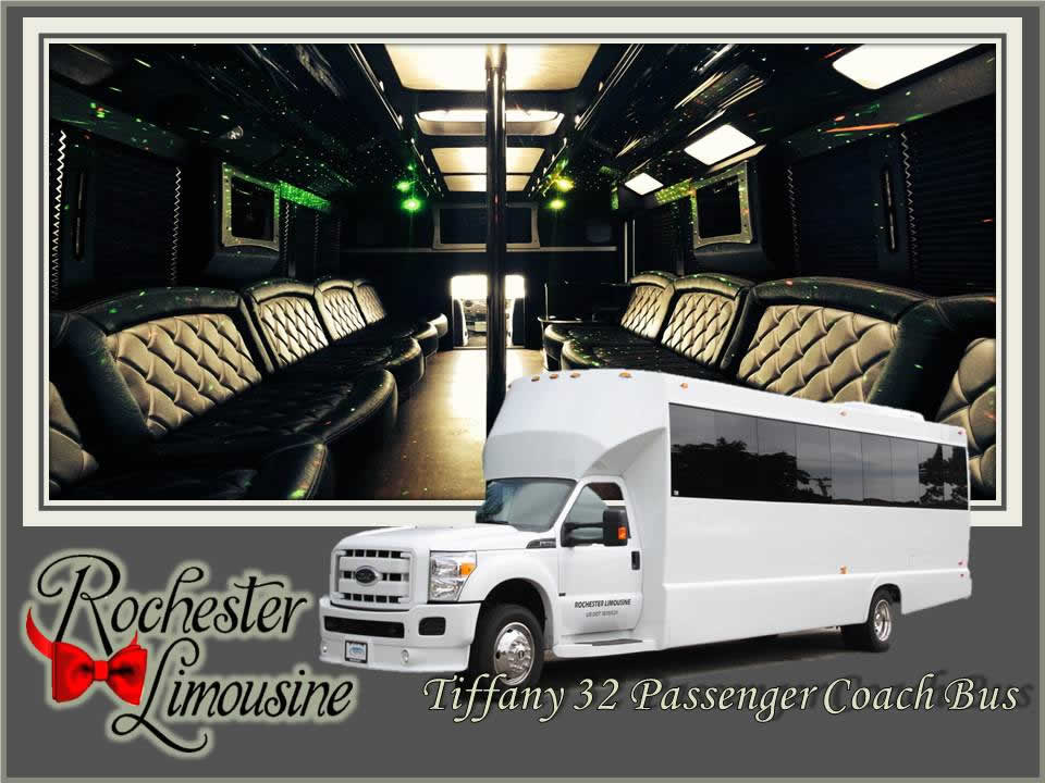Rochester-limos-Tiffany-32-passenger-party-bus