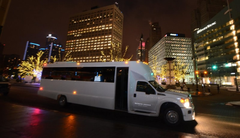 Party Bus Rental Ford Field