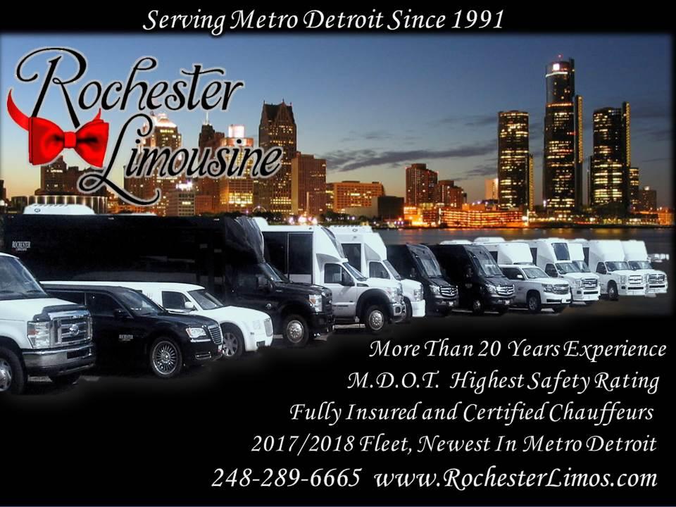 Rochester MI Party Buses Fleet
