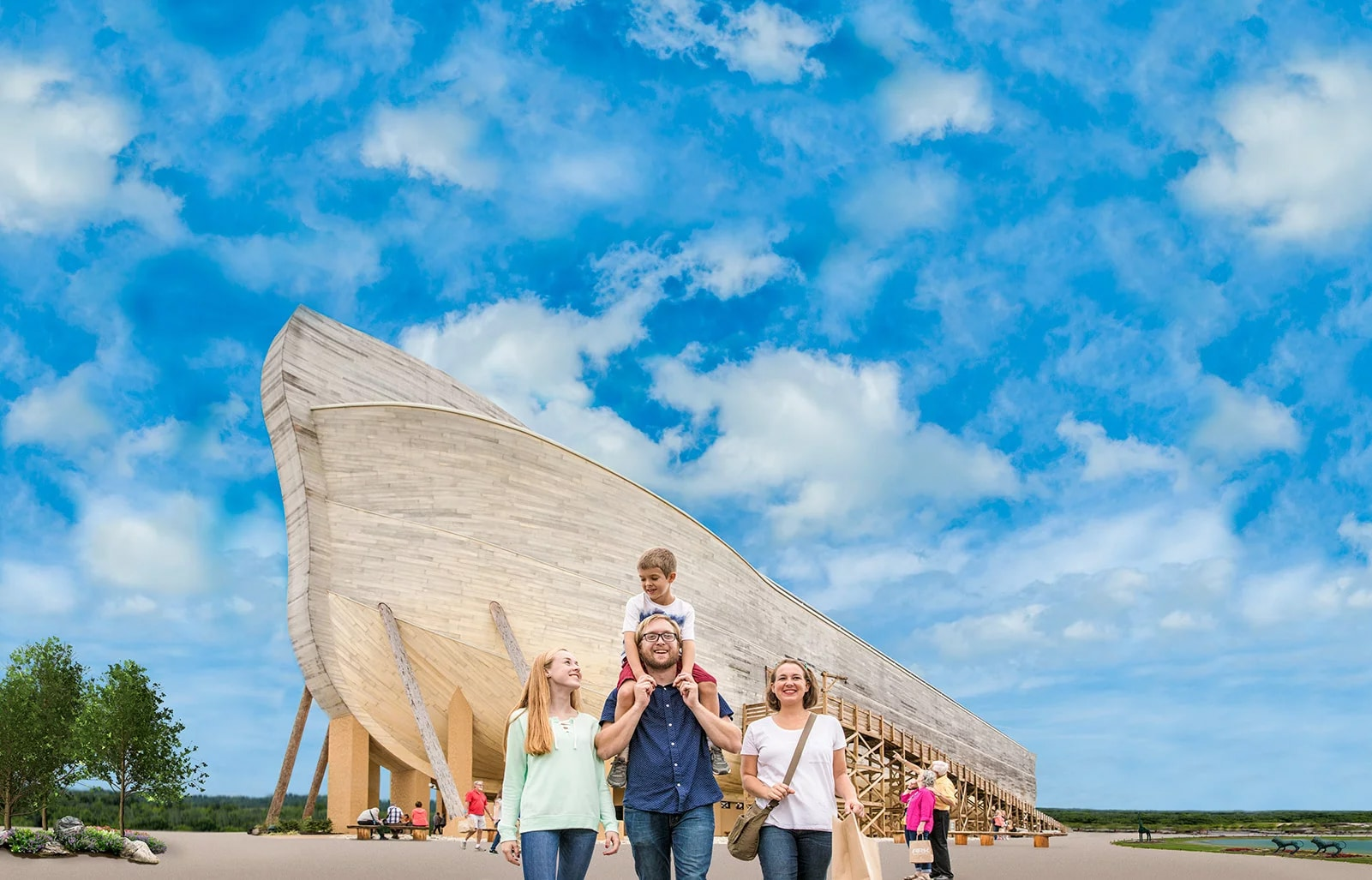 Take a Coach to the Ark Encounter